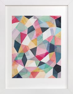 Kaleidoscope No.1 by Hooray Creative at minted.com