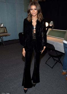 A stunning sight: Zendaya looked absolutely stunning for her guest judging…