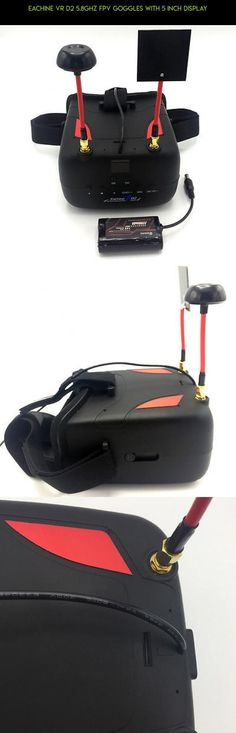 Eachine VR D2 5.8GHz FPV Goggles with 5 inch Display #5 #shopping #fpv #eachine #racing #technology #camera #kit #gadgets #inches #plans #parts #tech #products #drone #d2