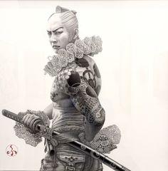 Samurai by Futaro Mitsuki