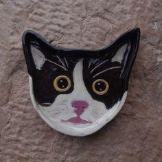 selbstgemachte Katzenschale