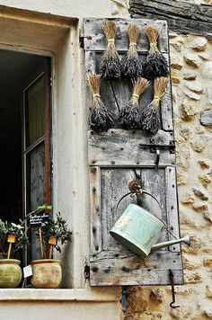 Provence, France The smell of lavender at your window .