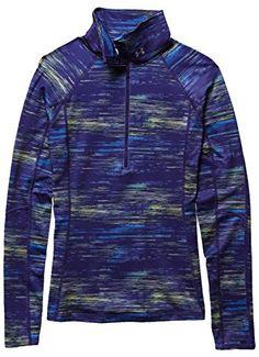 Under Armour Women's Coldgear Cozy Printed 1/2 Zip Shirt, Europa Purple/Jazz Blue/Metallic Silver, X-Large Under Armour http://www.amazon.com/dp/B00QHKDMS4/ref=cm_sw_r_pi_dp_C1huwb07P1Q26