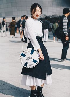 Top 40 StreetStyle Snaps From Seoul Fashion Week by Santosh Chhantyal