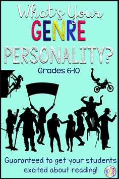 Students LOVE this activity! This genre personality quiz is designed to help middle and high school students identify which reading genres are best for them. You can use this lesson with little to no preparation--it's all ready to go! Genre Activities, Library Activities, Classroom Activities, Reading Genres, Reading Logs, Library Skills, Library Lessons, Library Ideas, Genre Lessons