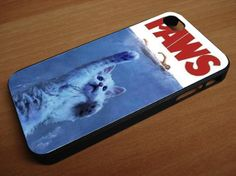 funny cat jaws comedy  for iphone 4/4s iPhone by GladiatorandBlood, $14.99