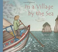 Written in a spare, lyrical style using fresh, evocative imagery, In a Village by the Sea tells the story of longing for the comforts of home. A perfect book for teaching about diverse cultures and lifestyles through rich pictures and words, moving from the wide world to the snugness of home and back out again.