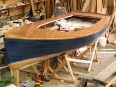 2011 Gartside Centerboard Sloop - Northwest School of Wooden Boatbuilding