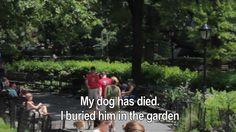 Un perro ha muerto Camilo Parra reads Pablo Neruda