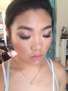 Fresh flawless makeup to enhance natural beauty for Events, Spring Racing, Birthdays, debutantes, parties, special occasion makeup Melbourne.    Melbourne Asian Makeup Artist   Makeup by Stella Tu Special Occasion + Bridal MUA www.makeupbystellatu.com.au  #bride #naturalmakeup #flawless #makeup #asianmua