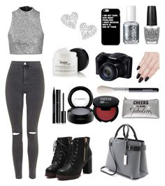 """""""Twilight♢"""" by lululadybug11 ❤ liked on Polyvore featuring Topshop, Michael Kors, Essie, OPI, Vivienne Westwood, Chanel, ncLA, MAC Cosmetics and Urban Decay"""