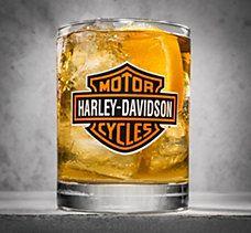 Harley Davidson Old Fashioned Glasses