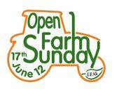 open farm sunday - 9th june