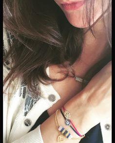 Charm'ed bracelets by Charm'ed Copenhagen - www.charmedcopenhagen.com - #charmed #bracelet #danishdesign #eye #jewellery #armbånd #smykker #pink #charmed_cph #rikkehandrecknovod