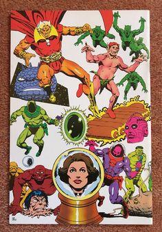 Jim Starlin, The Infinity Gauntlet, Strange Tales, Marvel Comics, Comic Books, Art, Products, Art Background, Kunst