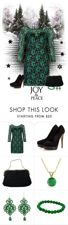 """Joy & Peace"" by cindy-for-fashion ❤ liked on Polyvore featuring Parisian, Lipsy, Caron, Ice and Tità Bijoux"