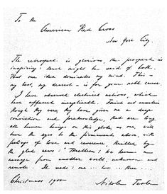 The incredible lost journals of the Great Nikola Tesla.