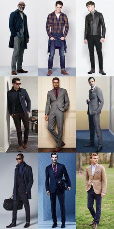 Men's Trouser Lengths - The Right Length/Break Lookbook