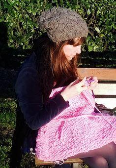 spring knit, pom-pom.me