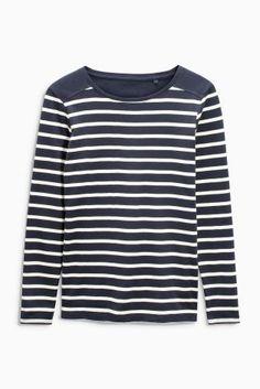 Langärmeliges T-Shirt mit Streifen heute online kaufen bei Next: Deutschland
