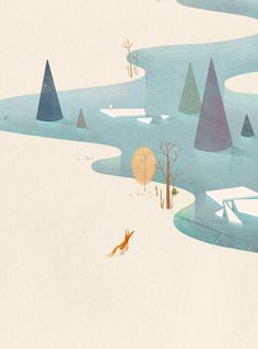 Water Series on Illustration Served