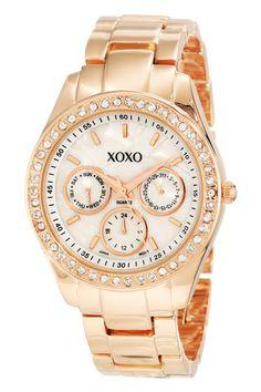 Reloj XOXO Rose Classic. Love it!