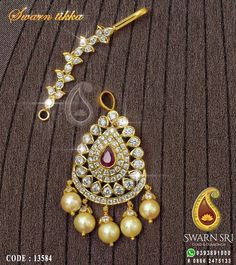 "Learn even more relevant information on ""buy diamond pendant set"". Take a look at our website. Urban Jewelry, Real Gold Jewelry, Gold Jewelry Simple, Indian Jewelry, Gold Jewellery, Tikka Jewelry, Quartz Jewelry, Latest Jewellery, Gold Hair Accessories"