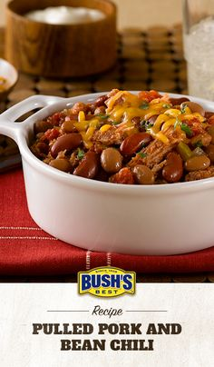 ... How about Chili? on Pinterest | Chili, Bean Chili and Chicken Chili