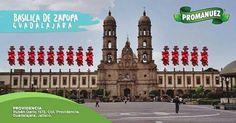En #Promanuez te recomendamos visitar la Basílica de Zapopan, un hermoso santuario Franciscano que alberga la imagen de la Virgen de Zapopan y otras obras de arte indígena. Sin duda, un lugar que debes visitar si viajas a Guadalajara.