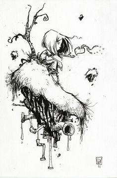 skottie young | Skottie Young Draws CreeD. WHOA!