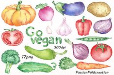 Watercolor Vegetables Clipart set includes: 17 PNG files with transparent backgrounds  Each file is in high quality 300dpi resolution. Suitable for most computer programs  This is digital product. File will be available as INSTANT DOWNLOAD on Etsy as soon as your purchase is complete.  These graphics are excellent for handmade craft items, printed paper items, invitations, cards, party banners, announcements, tags, jewelry, scrapbooking, web design, and graphic design!  For personal and…