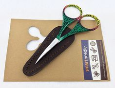 Parrot Embroidery Scissors by Smartneedle.com