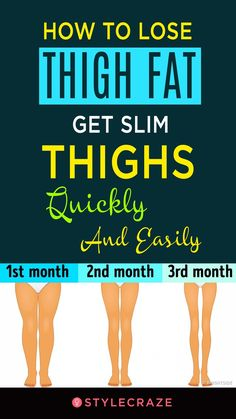 How To Lose Thigh Fat - Get Slim Thighs Quickly And Easily #health #fitness | Posted By: AdvancedWeightLossTips.com