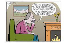 Co poniedziałek publikujemy nowy rysunek Andrzeja Mleczki. Zapraszamy też do…