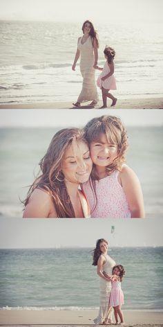 mother + daughter beach shoot  #portraits #beach #family
