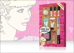 Benefit Cosmetics - little love potions #benefitgals