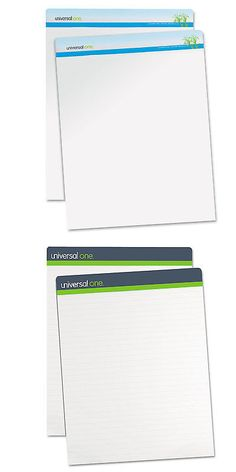 Other Narrow Gauge 9037: Sugarcane Based Easel Pads, Unruled, 27 X 34, White, 50 Sheets, 2 Pads Pack-Unv4 -> BUY IT NOW ONLY: $72.09 on eBay!