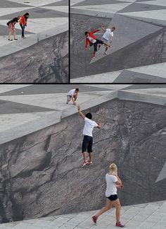 """Technologie-Potpourri: """"Mind Your Step"""" Kunst-Installation ist Nur ..."""