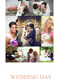 50 best photo collage images on pinterest photo collage template make a special wedding day with this center model collage template maxwellsz