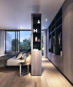 Small modern master bedroom ideas very small modern bedroom design Bedroom Closet Design, Home Decor Bedroom, Bedroom Designs, Bedroom Ideas, Bedroom Bed, Bedroom Storage, Bedroom Wardrobe, Wardrobe Behind Bed, Closet Storage