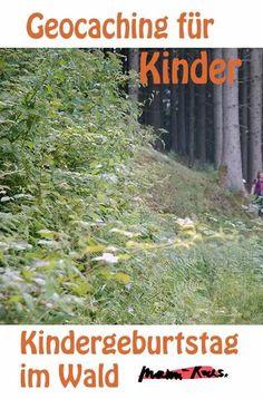 Geocaching Kindergeburtstag im Wald mit Wanderung Such Und Find, Geocaching, Traveling With Children, Virtual Card, Childrens Gifts, Families