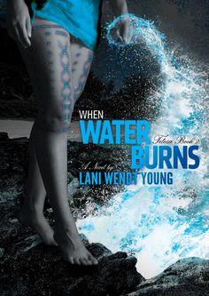 Telesa: When Water Burns by Lani Wendt Young | YA trilogy, book series based on Samoan mythology, book II | Cover: Talia designs, Penina Momoisea (photography), Stacie Ah Chong Levi (model)