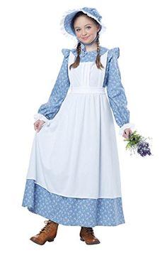 2aa22ad3b4 California Costumes Pioneer Girl Child Costume
