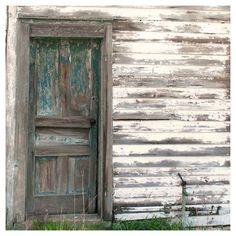 Rustic Farm Photo Vintage Farmhouse Door by semisweetstudios, $25.00