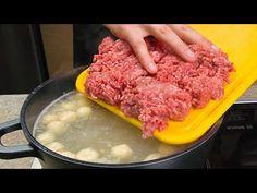 Збудьте про ЩИ и БОРЩИ!!! Сварил 4 кастрюли! Ели всю ночь со всеми соседями! - YouTube Garlic Soup, Hamburger Soup, Cheese Ball, Soups And Stews, Lentils, Beef, Healthy, Recipes, Food