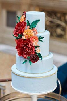 A New York City Wedding: Classic Meets Color!