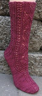 Designed as a mystery sock KAL for the Sock Knitters Anonymous group for March 2015.