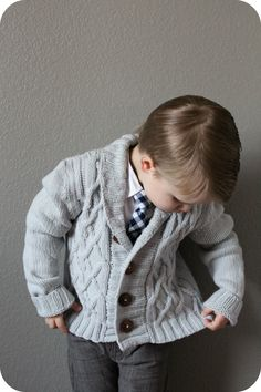 I just finished this most handsome Arlo cardigan for my son and I love it soooo much! The cables on this sweater are to die for. ...