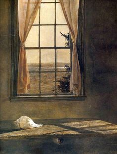 Her Room - Andrew Wyeth (I'm completely blown away by this artist's work).