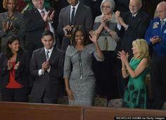 First Lady Michelle Obama #SOTU 2015